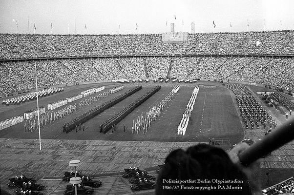 Polizeisportfest Berlin, wohl 1956/57