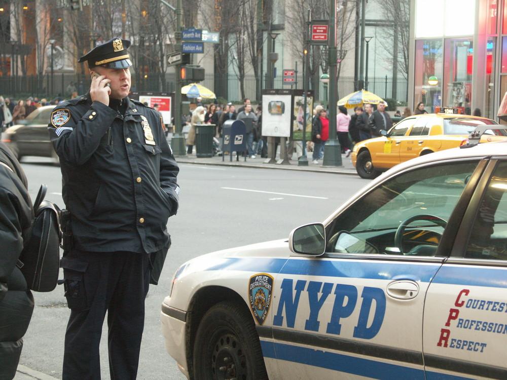 Polizist in New York