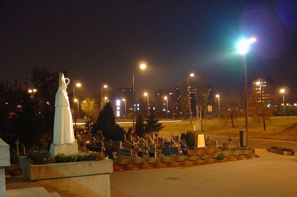 Polnischer Friedhof in der City