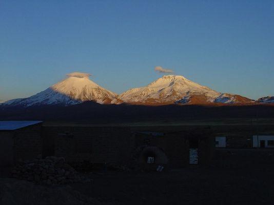 Pomerape und Parinakota, 6340m