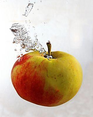 Pomme à l'eau..