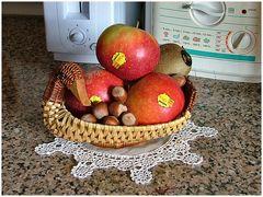 Pommes françaises  Ariane....belles mais pas bonnes :-)))