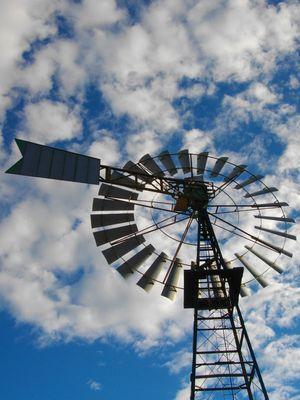 pompa pozzo a vento