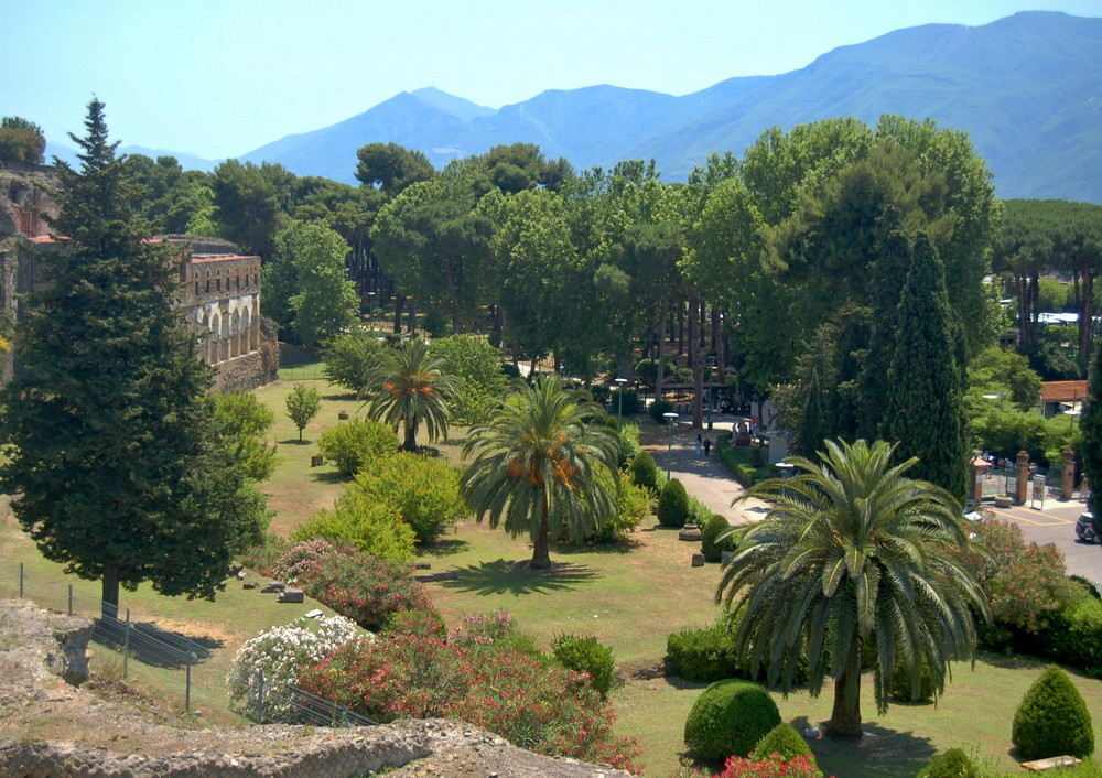 Pompei - am Ausgang