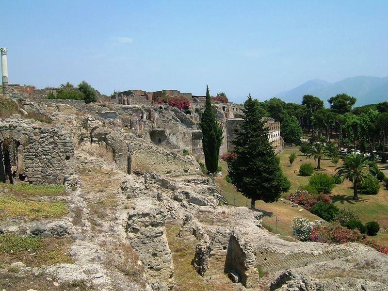 Pompei - Stadtrand