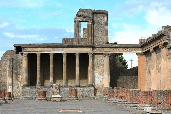 Pompeji II Basilika