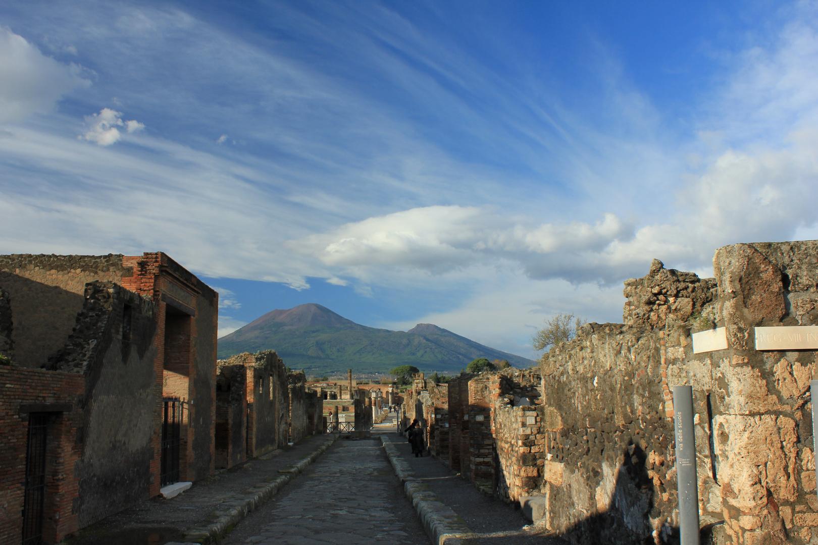 Pompeji und Vesuv