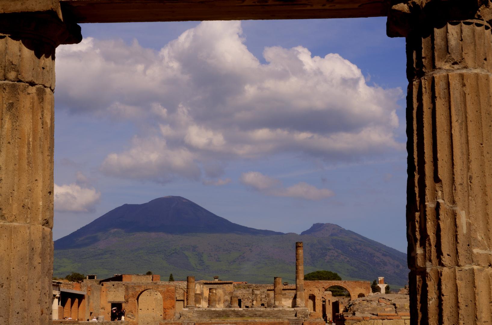 Pompeji - Vesuvio