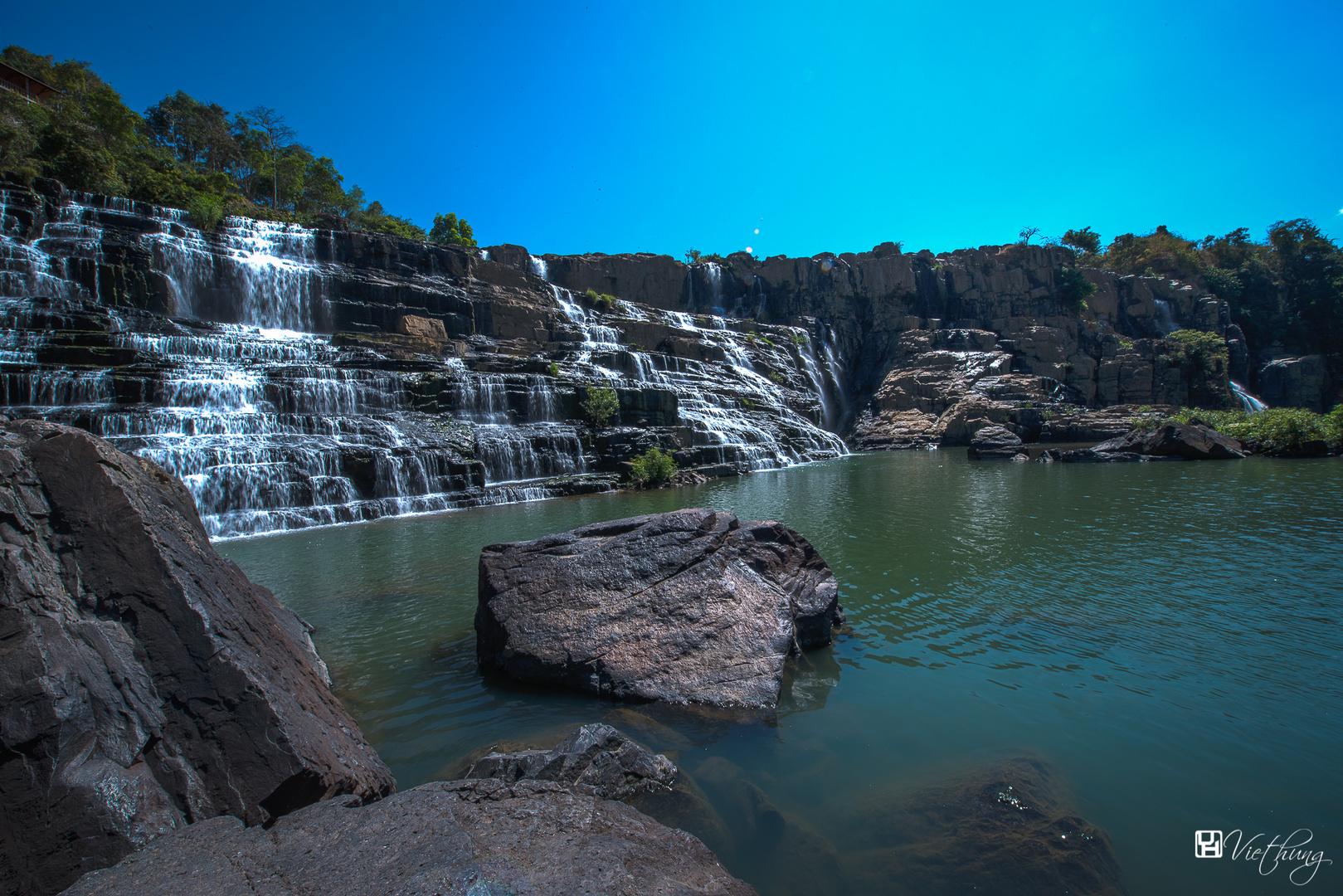 Pongour waterfall