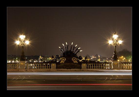 Pont Alexandre III. Nachtmotive