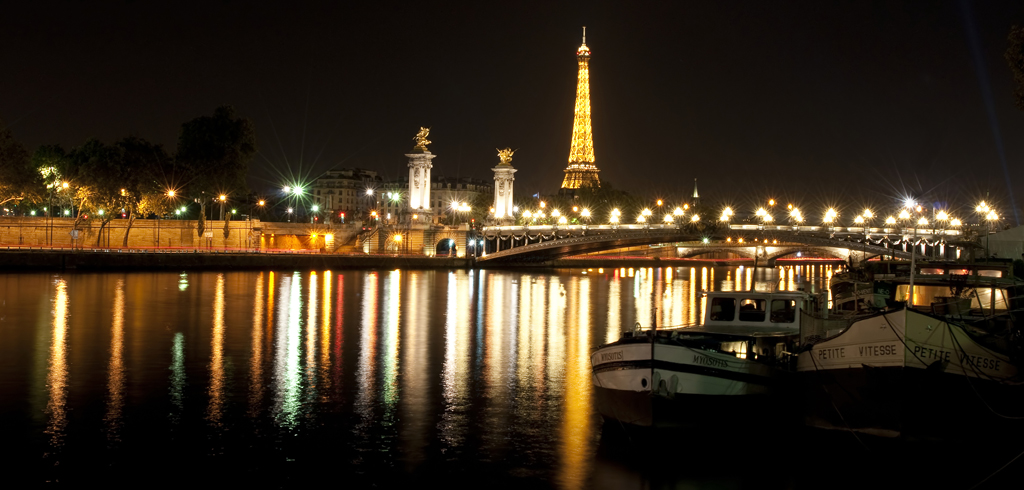 Pont Alexandre III Tours Eiffel
