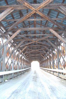 Pont couvert