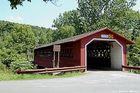 Pont couvert aBennington au Vermont USA