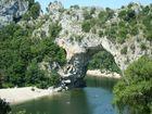 Pont-d´Arc, Fluss Chassezac