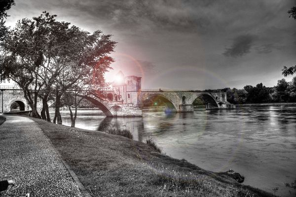 Pont d'Avignon, HDR