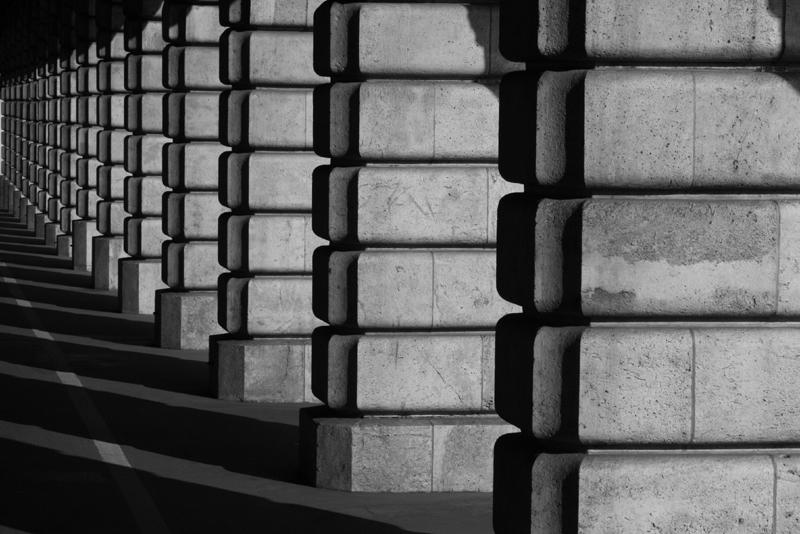 Pont de Bercy, 16h34 en novembre