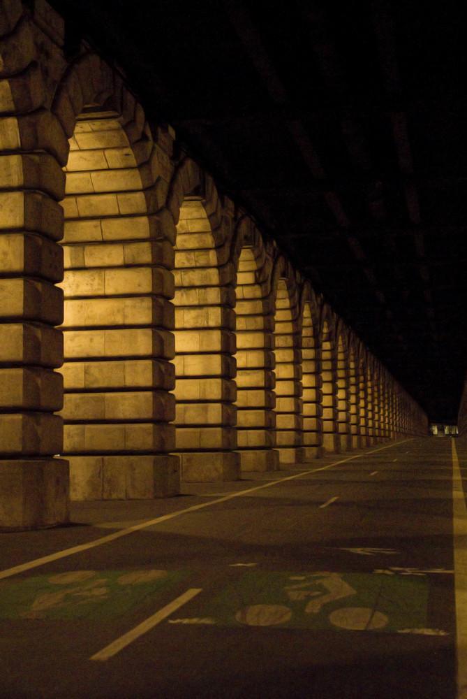 Pont de Bercy la nuit - FABRICE FRANQUEZA
