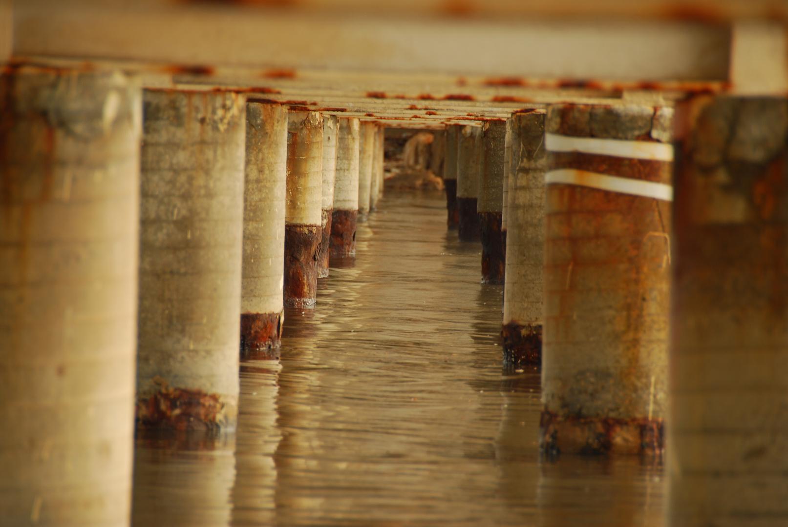 Pont de l'usine d'electricite du port de Tel Aviv