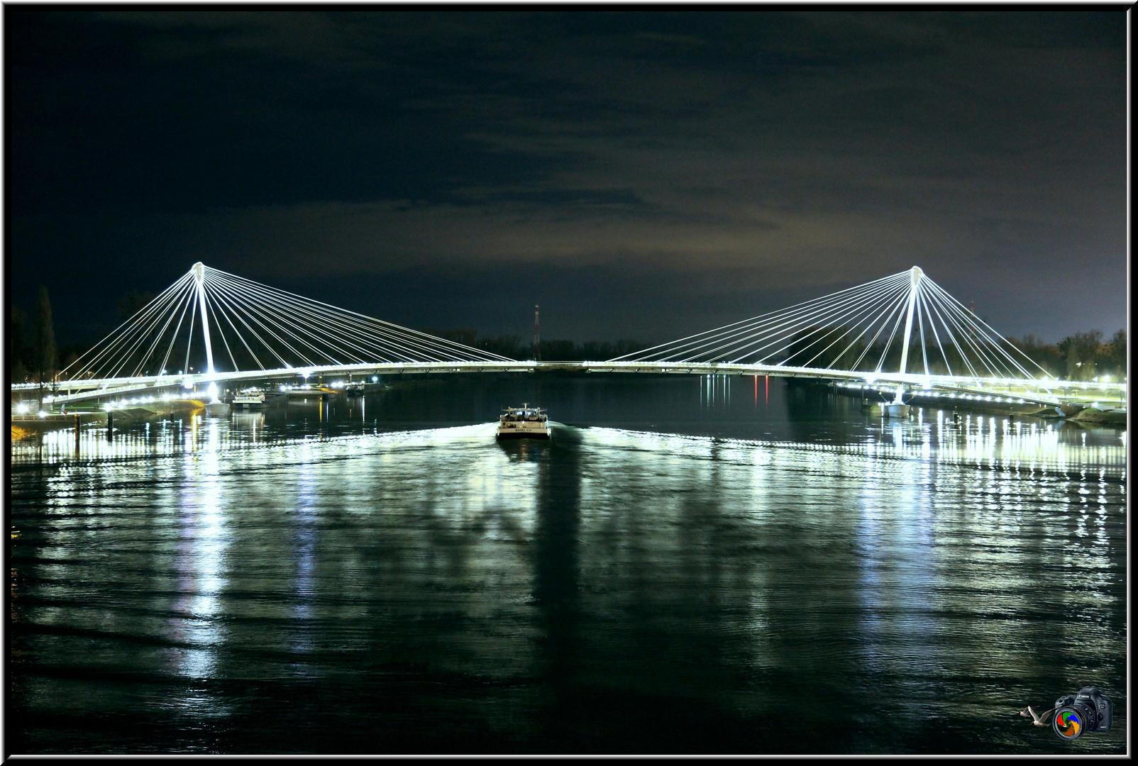 Pont des 2 rives (nacht)