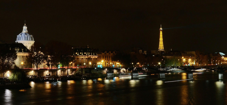 Pont des Arts am Institut de France