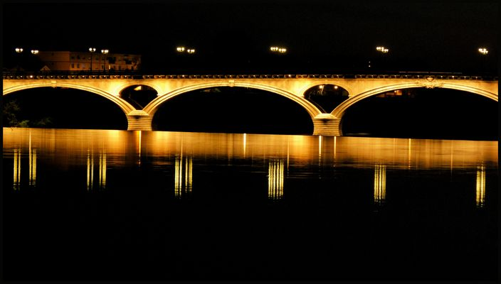 Pont des Catalans By Night