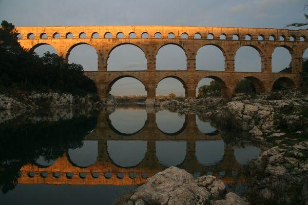 Pont du Gard, Languedoc, Frankreich