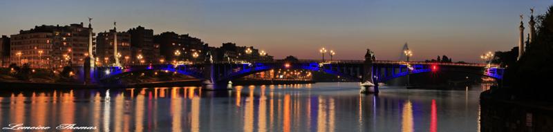 Pont et lumières, réflections que je trouve intéressantes et vous.