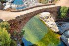 Pont Génois de la forêt d'Aîtone (Corse)