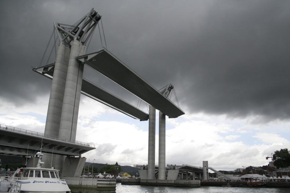 Pont Gustave Flaubert à ROUEN