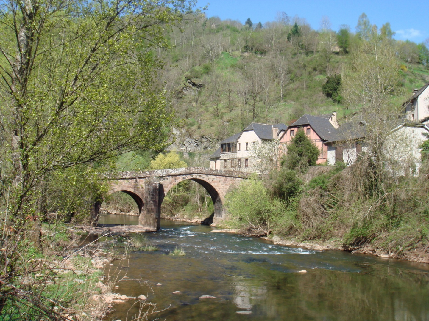 pont médiéval a conque