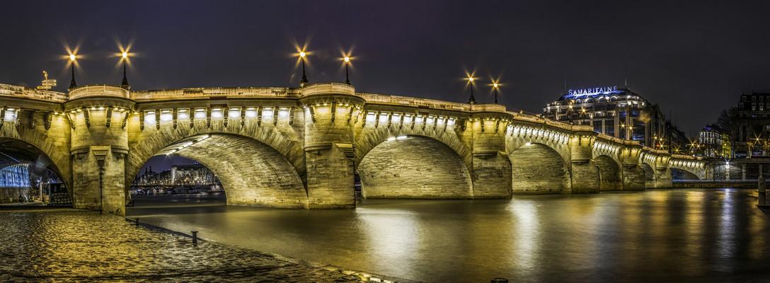 Pont Neuf et Samaritaine
