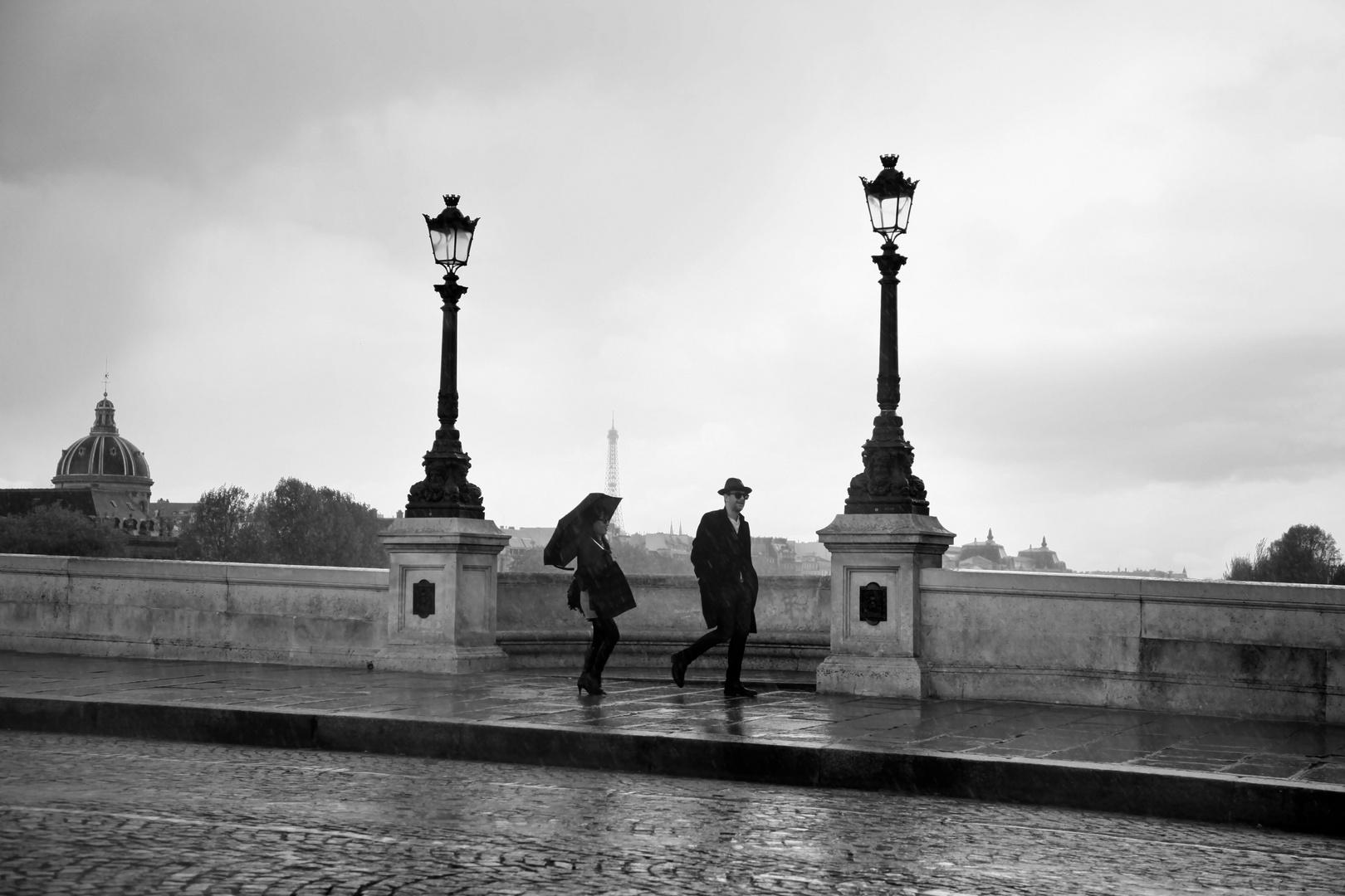 Pont Neuf, il pleut sur....