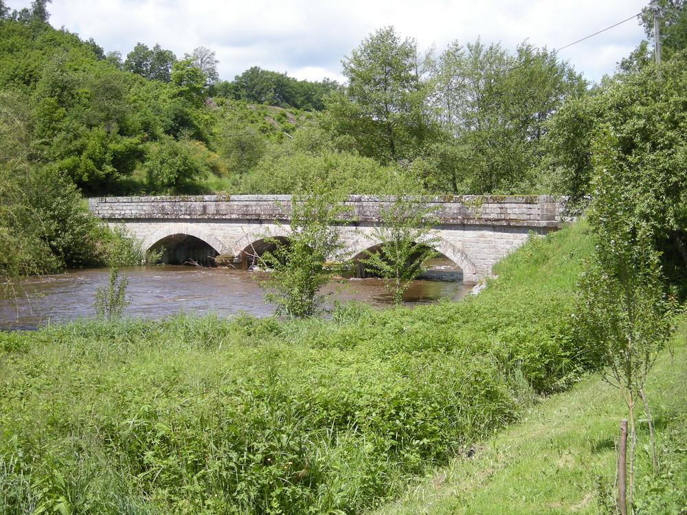 Pont sur la Gartempe