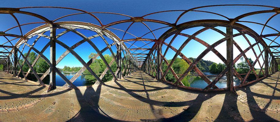 pont sur l'eau