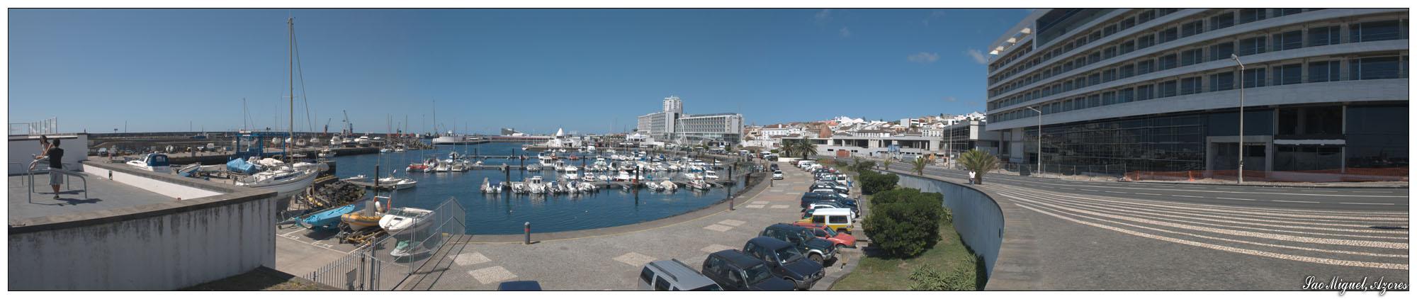 Ponta Delgada (Sao Miguel, Azoren)