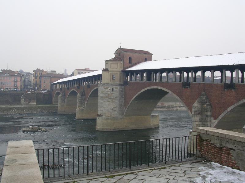 Ponte Coperto - Pavia