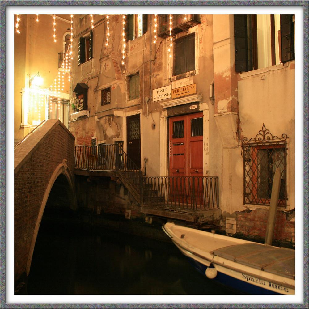Ponte St. Antonio by Night