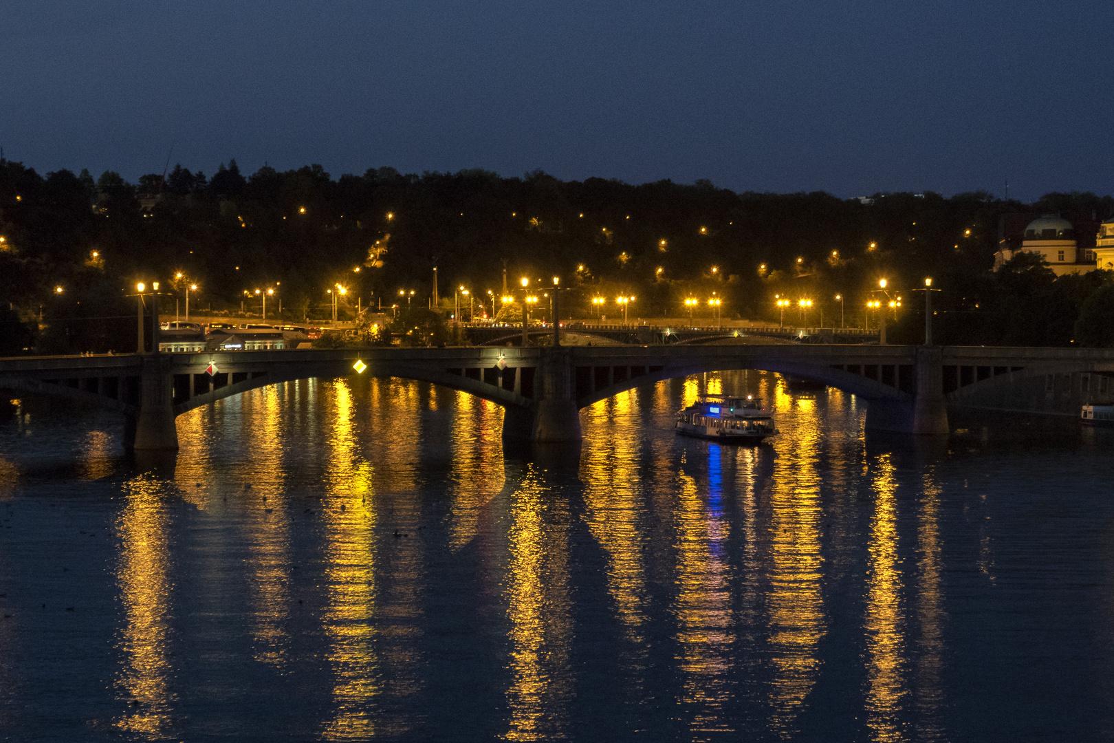 Ponte sulla Moldava, Praga