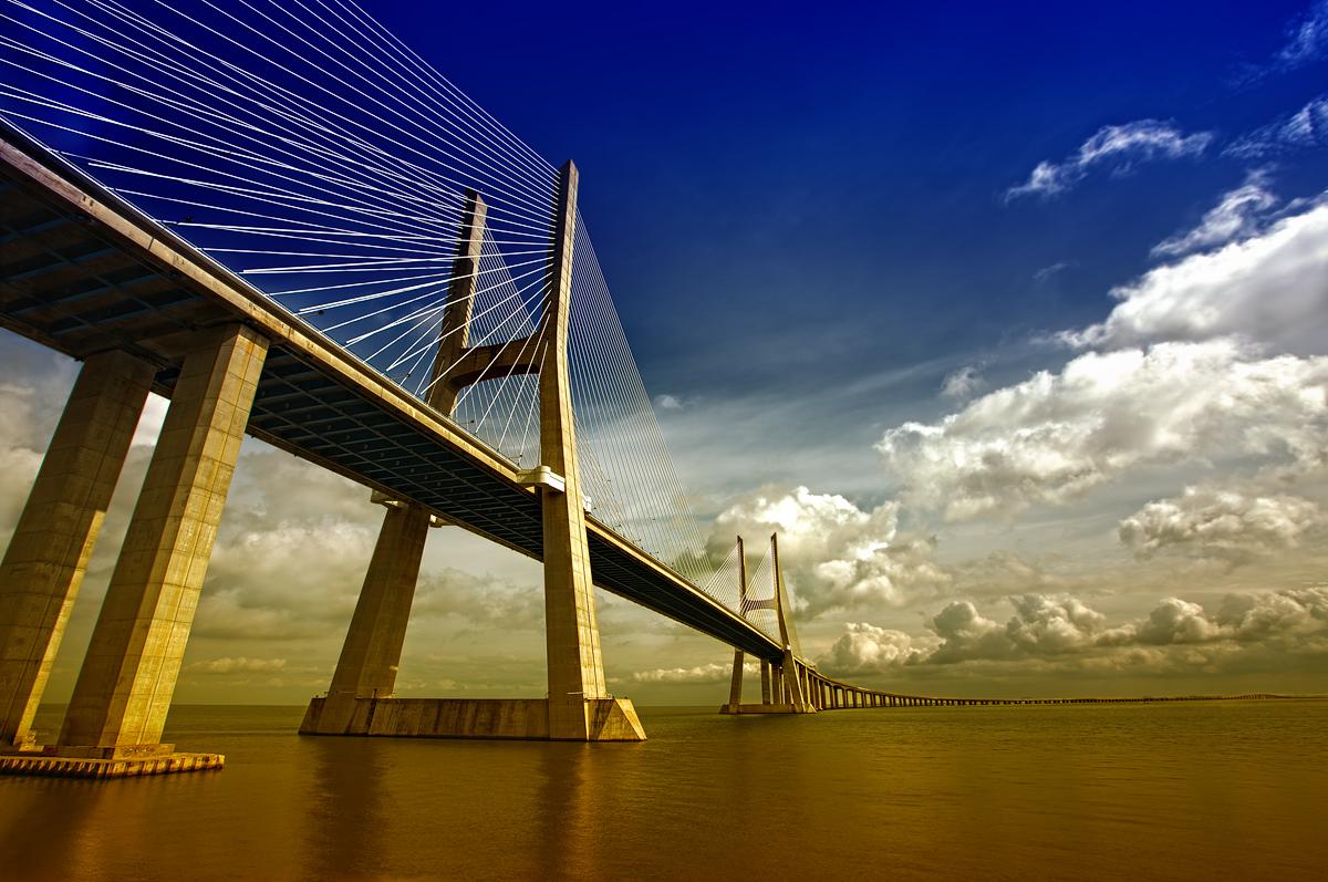 Ponte Vasco da Gama, Lissabon Portugal