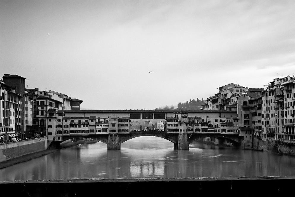 Ponte `´ Vecchio (1345), Firenze