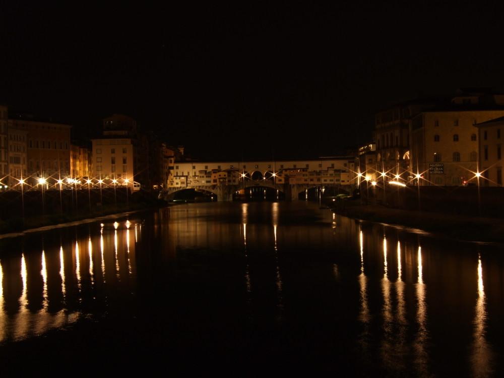 Ponte Vechhio bei Nacht