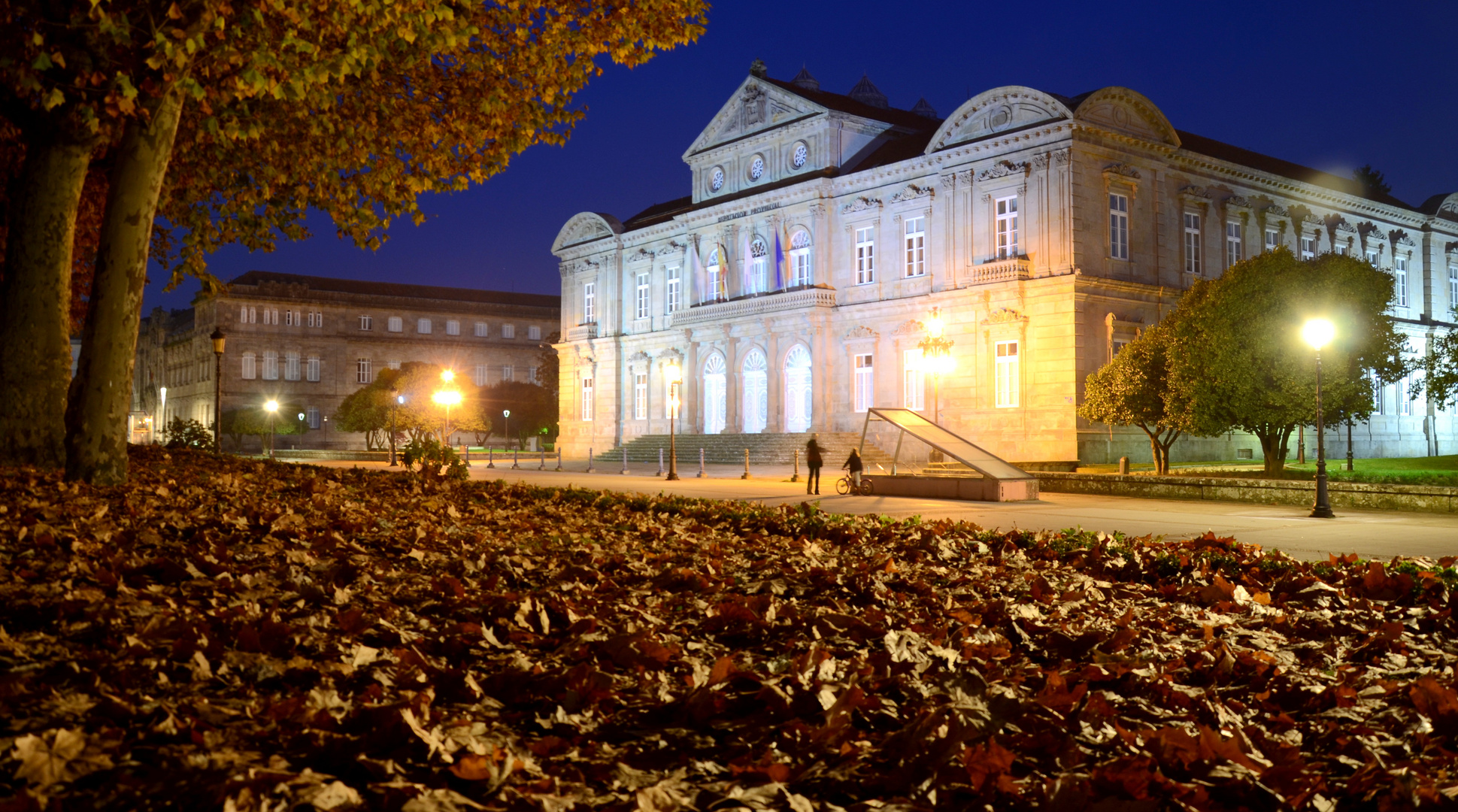 Pontevedra la nuit