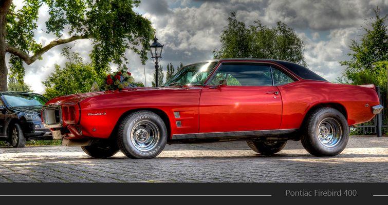 Pontiac Firebird 400 - HDR