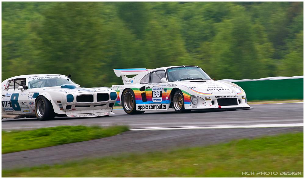 Pontiac Trans Am vs Porsche 935 K3