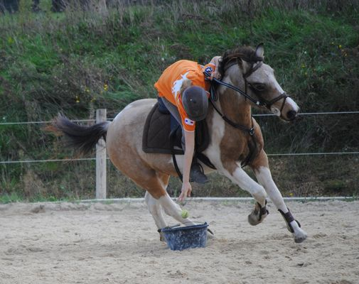 pony mounted games