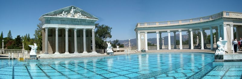 Pool bei Hearst-Castle
