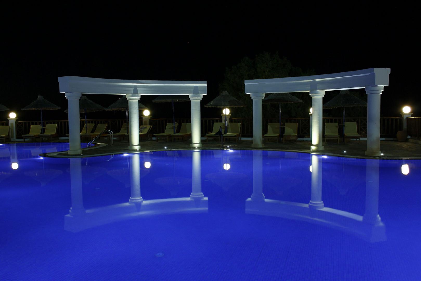 Pool im Alexander-Beach - Kreta