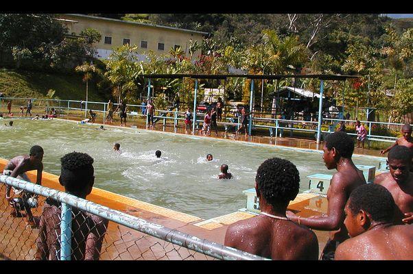 Pool im Hochland von PNG