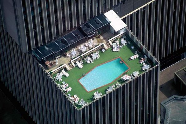 pool on the top