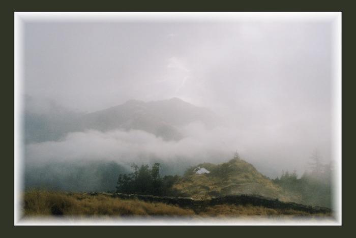 Poon Hill im Nebel-Annapurna Reg. Nepal